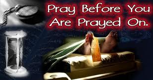 pray b4 u pray on